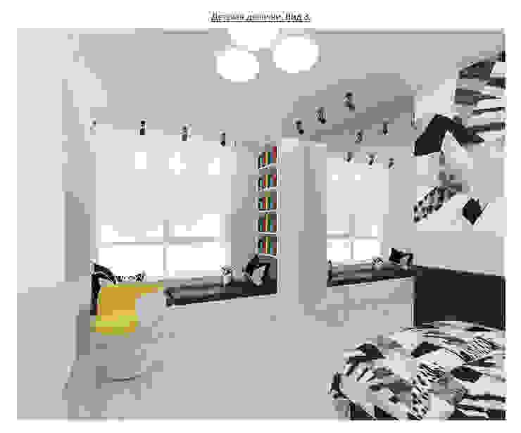 чистый проект Детская комнатa в стиле минимализм от Circus28_interior Минимализм