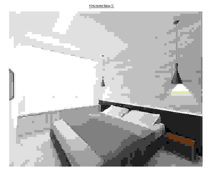 чистый проект Спальня в стиле минимализм от Circus28_interior Минимализм