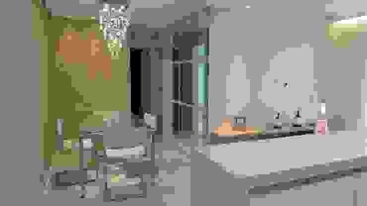 Projeto Salas de jantar modernas por Drika Passos Design Moderno