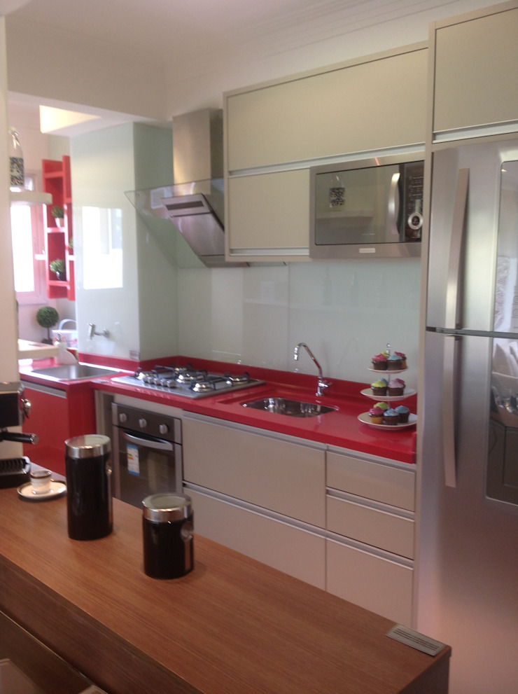 Projeto Cozinhas modernas por Drika Passos Design Moderno