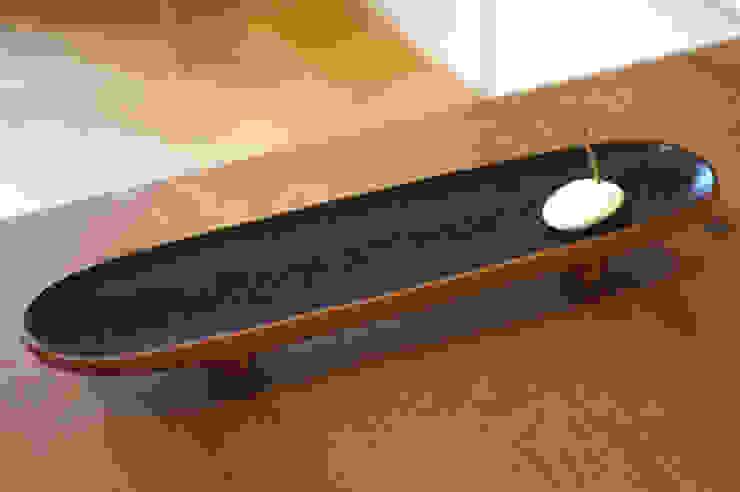 器 Container of the tree.: アトリエつみき屋が手掛けた折衷的なです。,オリジナル 木 木目調