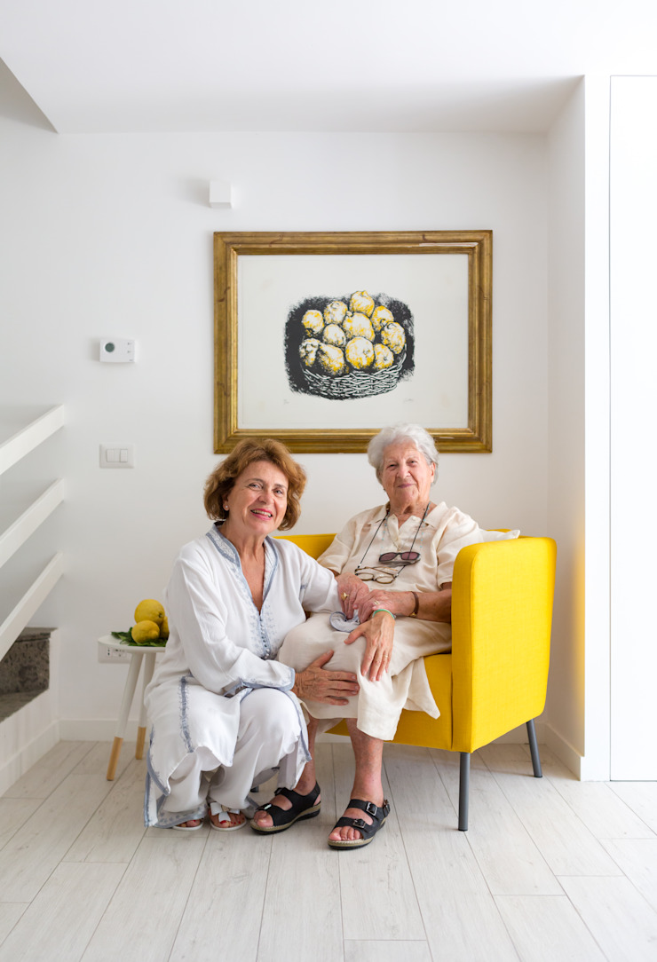 Casa di Silvana Maurizio Giovannoni Studio Pareti & Pavimenti in stile minimalista
