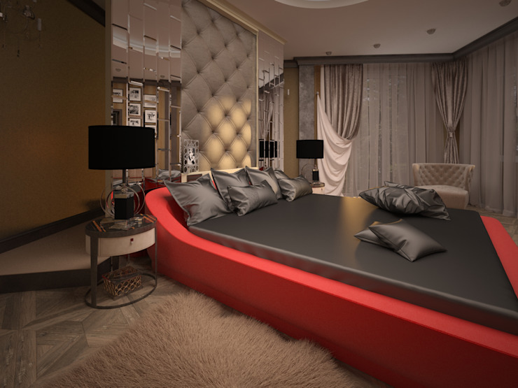 Slaapkamer door Alfia Ilkiv Interior Designer