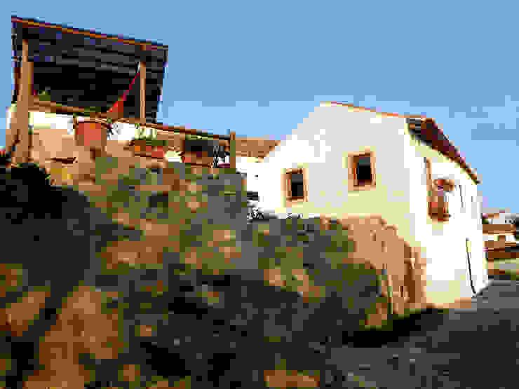 Rustic style houses by pedro quintela studio Rustic Stone