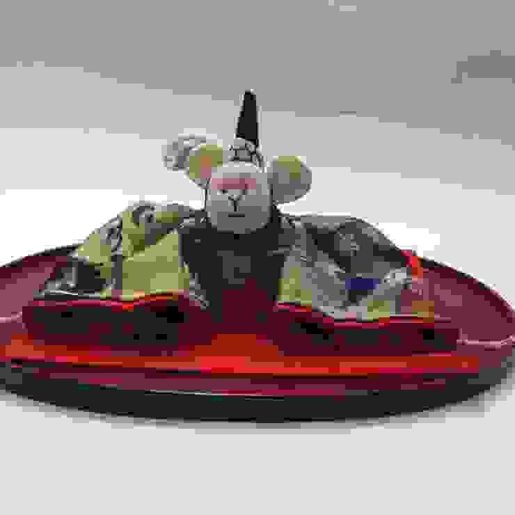 干支人形 申(さる): 古裂工房 うさぎが手掛けたクラシックです。,クラシック 絹 黄色
