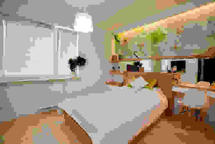 Bedroom by ZAWICKA-ID Projektowanie wnętrz, Modern