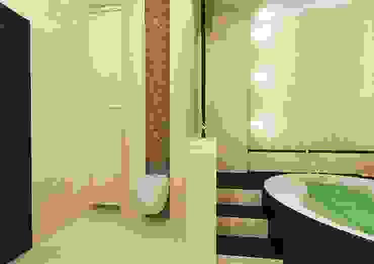 Łazienka orientalna Azjatycka łazienka od ZAWICKA-ID Projektowanie wnętrz Azjatycki