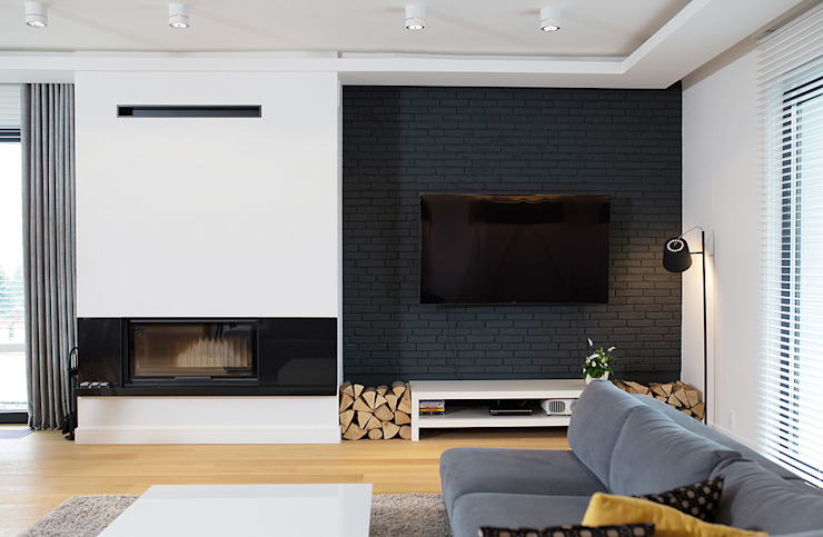 Moderne woonkamers van anna jaje Modern