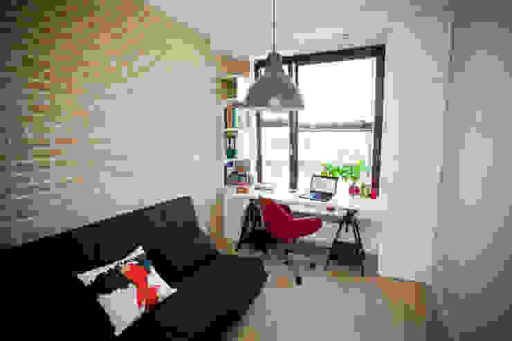 Oficinas y bibliotecas de estilo moderno de ZAWICKA-ID Projektowanie wnętrz Moderno