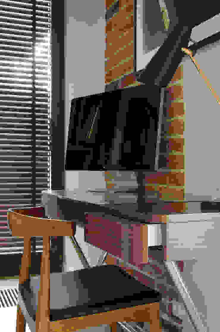 Modern Study Room and Home Office by ZAWICKA-ID Projektowanie wnętrz Modern