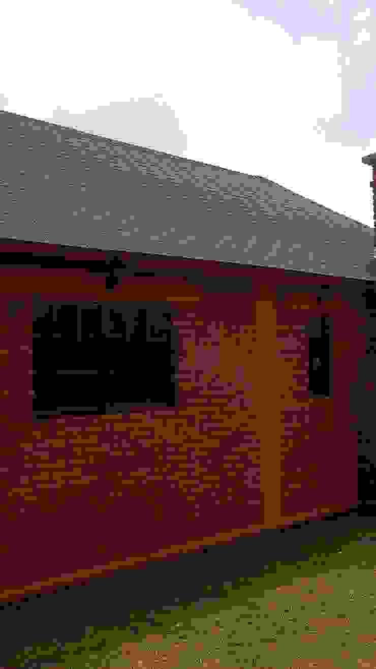CABAÑA EN ATOTONILCO EL GRANDE HGO Casas rústicas de OMR ARQUITECTURA & DISEÑO DE INTERIORES Rústico