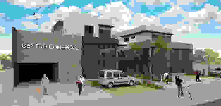 Centro Comercial Edifícios comerciais modernos por Estúdio Criativo Arquitetura e Interiores Moderno