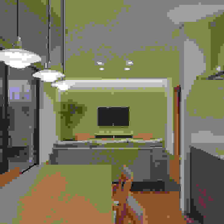 Modern Living Room by AIDAHO Inc. Modern