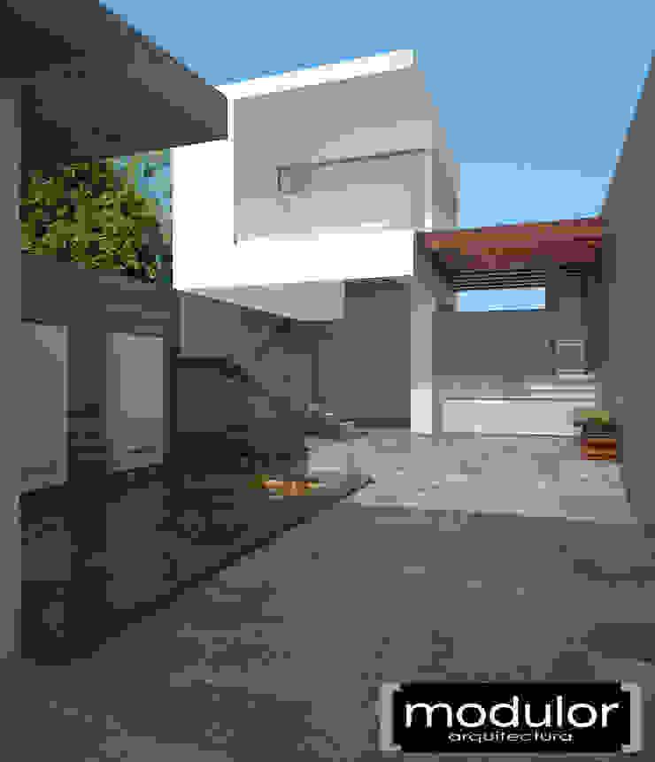 Palapa Sosa Locaciones para eventos de estilo moderno de Modulor Arquitectura Moderno Concreto