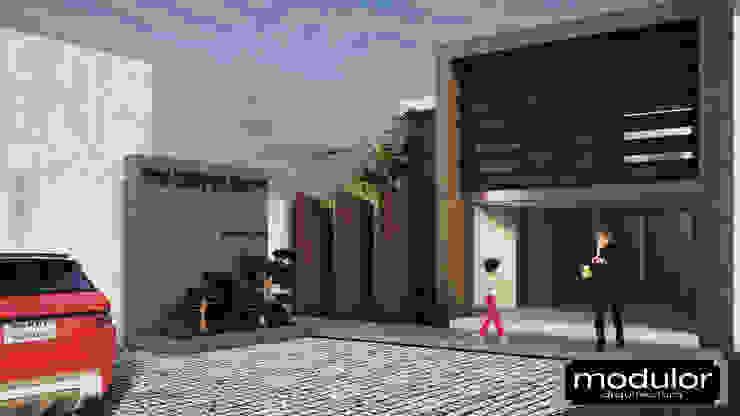Proyecto BioDental Clinic Clínicas y consultorios médicos de estilo moderno de Modulor Arquitectura Moderno Pizarra