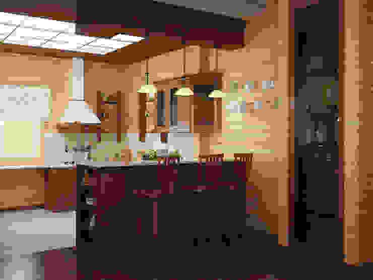Cozinhas campestres por homify Campestre Madeira Acabamento em madeira