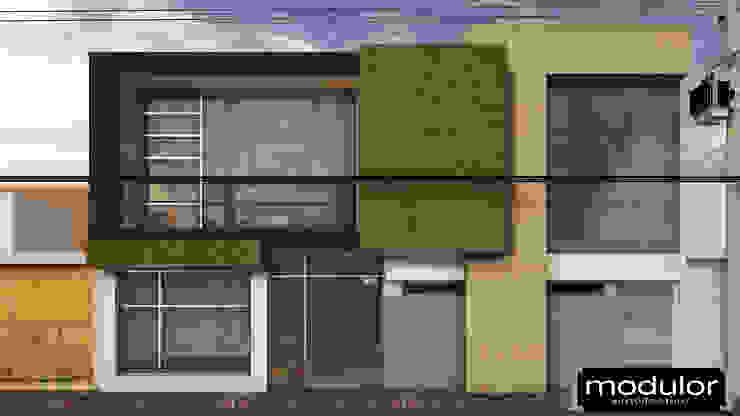 Locais de eventos modernos por Modulor Arquitectura Moderno Ardósia