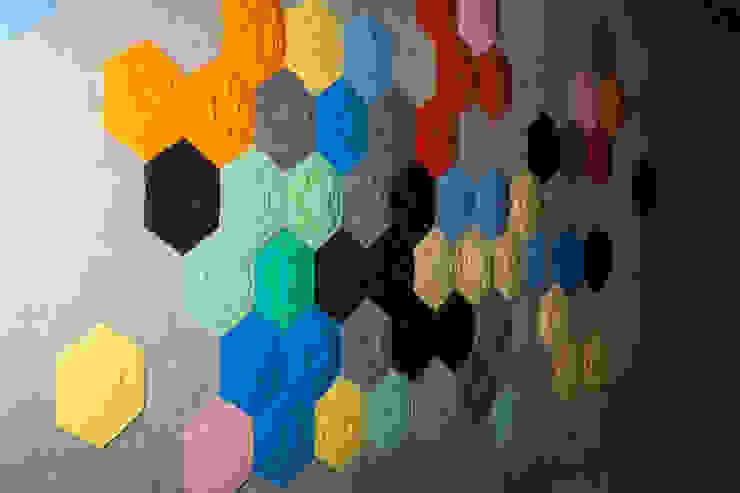 Décor Mural RAINBOW (vendu par lot de 10 pièces) - ∅ 27,5 cm ARTURASS Murs & SolsPapier peint Papier