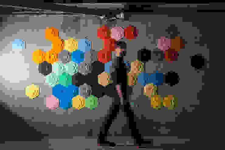 Décor Mural RAINBOW (vendu par lot de 10 pièces) - ∅ 27,5 cm ARTURASS Murs & SolsPapier peint