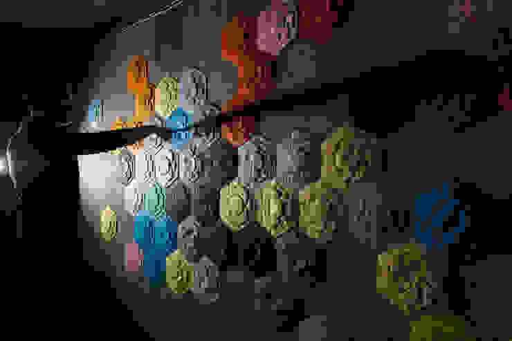 Décor Mural RAINBOW (vendu par lot de 10 pièces) - ∅ 27,5 cm ARTURASS Murs & SolsDécorations murales