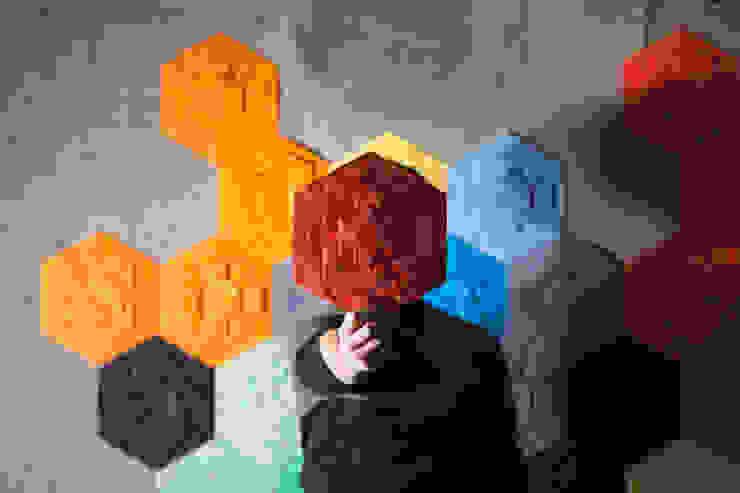 Décor Mural RAINBOW (vendu par lot de 10 pièces) - ∅ 27,5 cm ARTURASS Murs & SolsRevêtements de mur et de sol