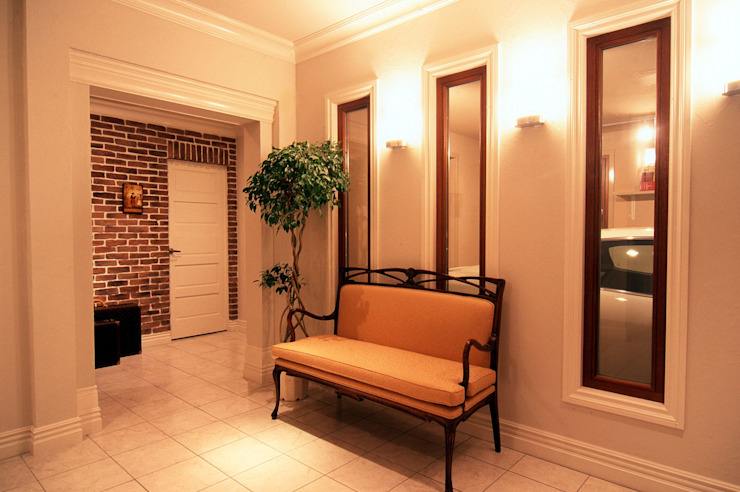 IC house | SANKAIDO 地中海スタイル 玄関&廊下&階段 の SANKAIDO | 株式会社 参會堂 地中海