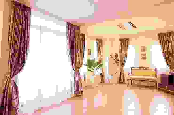 IC house | SANKAIDO 地中海デザインの リビング の SANKAIDO | 株式会社 参會堂 地中海