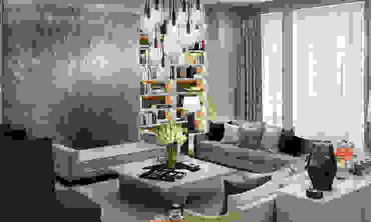 Knightsbridge Private Park, Moscow Salas de estar modernas por LINLEY London Moderno