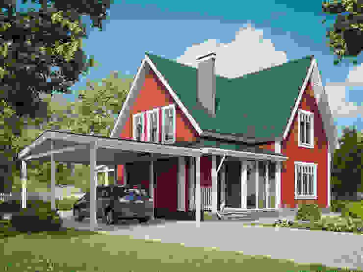 Тори 170 Дома в классическом стиле от Mild Haus Классический Дерево Эффект древесины