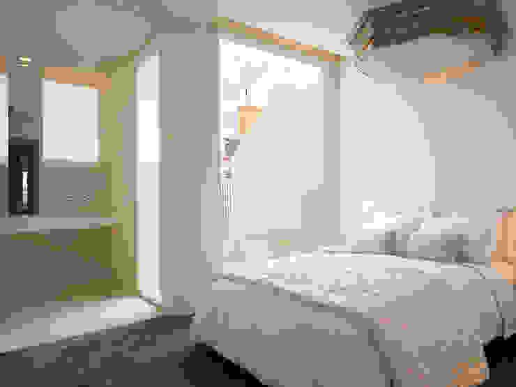 Dúplex de Ensueño Dormitorios de estilo moderno de Sanchez y Delgado Moderno
