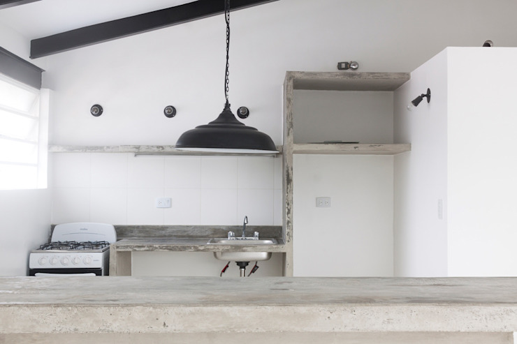 Minimalist kitchen by CENTRAL ARQUITECTURA Minimalist Concrete