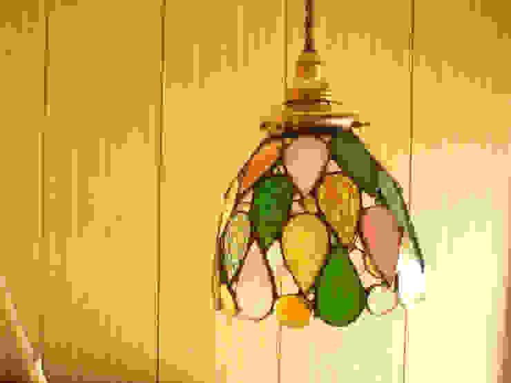 しずくのランプ: Bloom Glassが手掛けた折衷的なです。,オリジナル ガラス