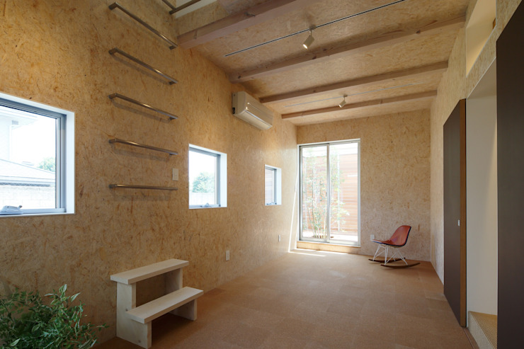 等々力の家 北欧デザインの 子供部屋 の アトリエ スピノザ 北欧