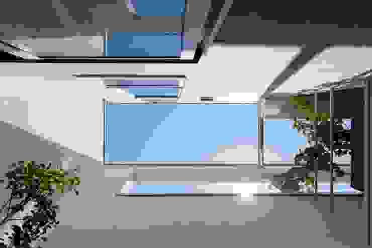 等々力の家 ミニマルデザインの テラス の アトリエ スピノザ ミニマル