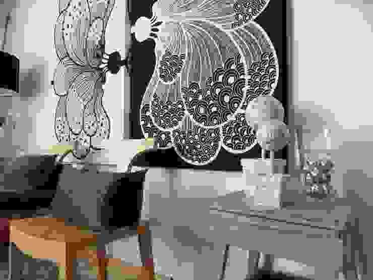 Alfredo Herrera Design Salones modernos de Alfredo Herrera Design Moderno