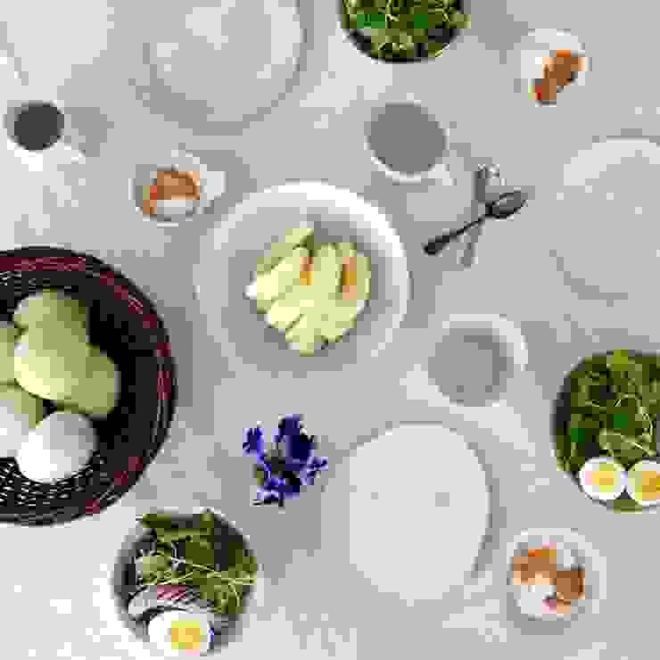 朝食風景: yokofujimotoが手掛けた折衷的なです。,オリジナル