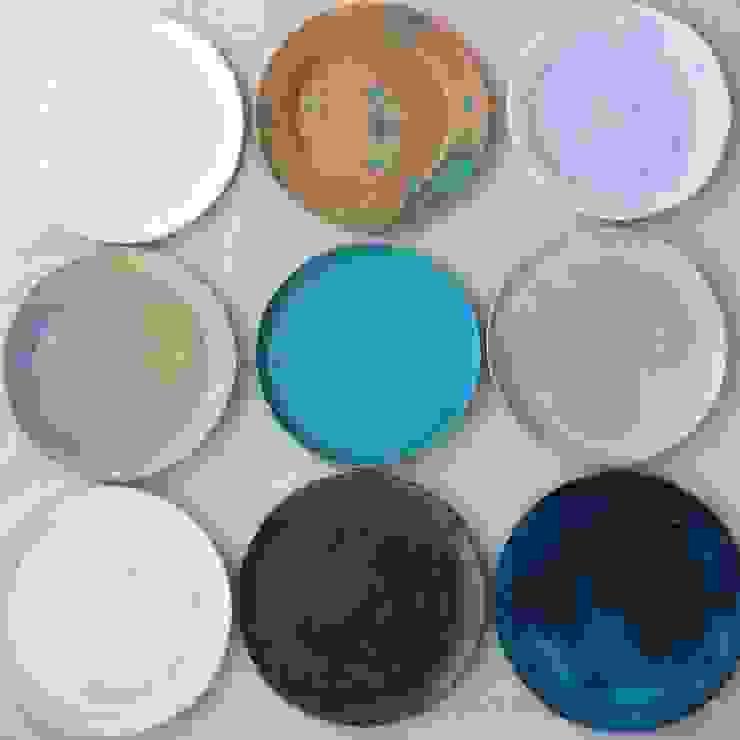 ワンプレート皿: yokofujimotoが手掛けた折衷的なです。,オリジナル
