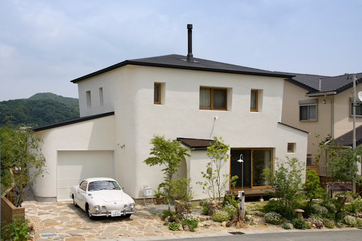 Eclectic style houses by 大森建築設計室 Eclectic