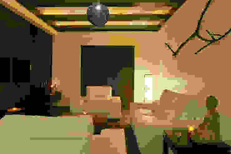 Weekend Villa Interior Modern living room by RUST the design studio Modern Wood Wood effect