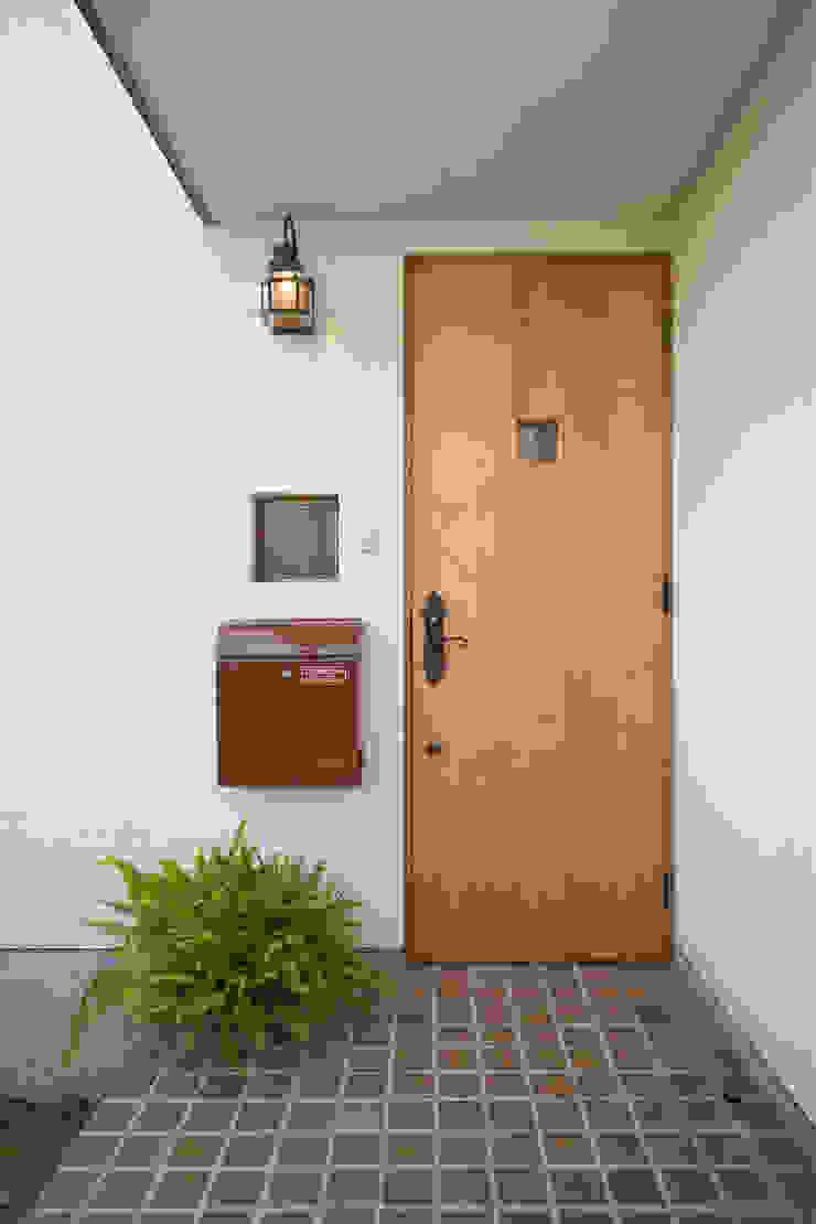 大森建築設計室 Eclectic style houses Wood White