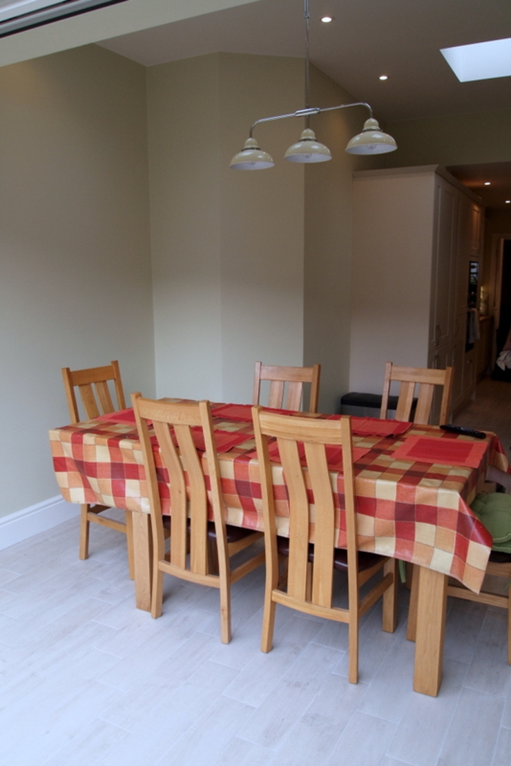 Single Storey Extension Butler Road Harrow London Building Renovation Classic style dining room