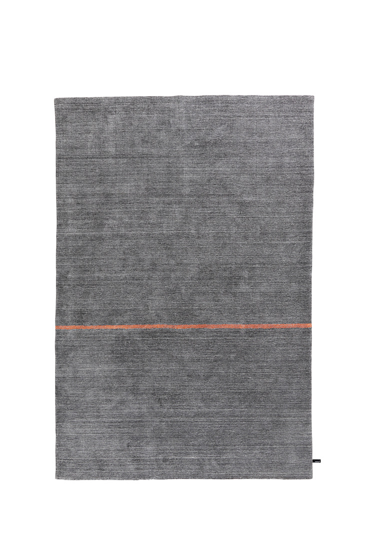 Simple Maq orange line von Zimmermanns Kreatives Wohnen Ausgefallen Textil Bernstein/Gold