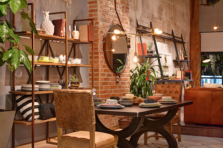 Showroom Comedores de estilo moderno de The Blue House Moderno