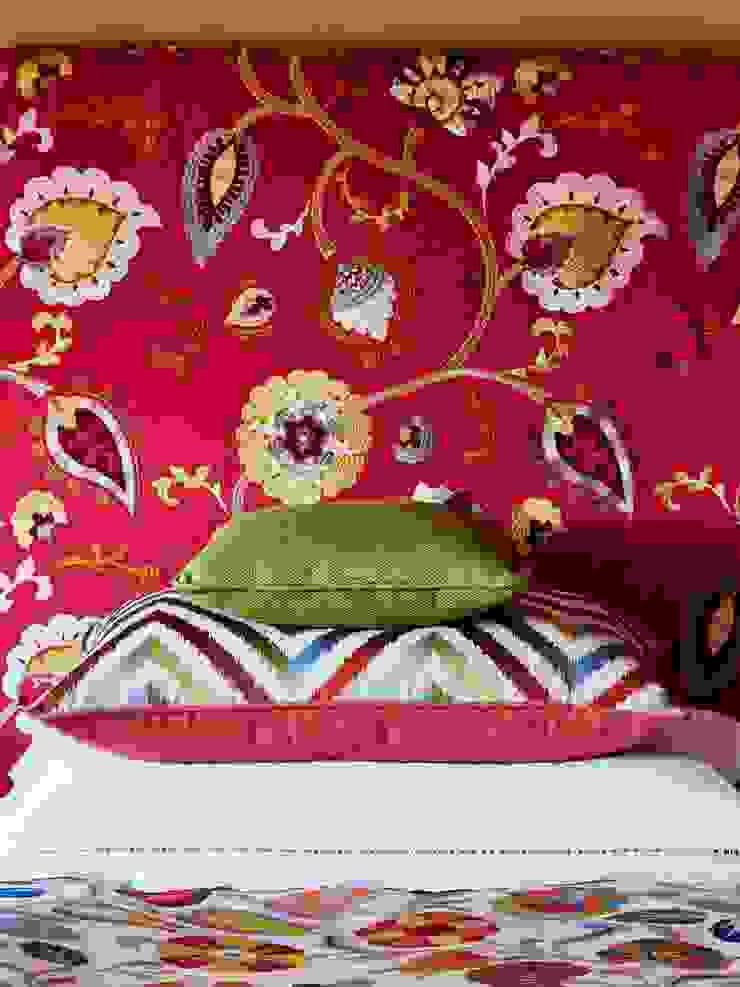 Emporio del Tessuto BedroomBeds & headboards Textile Multicolored