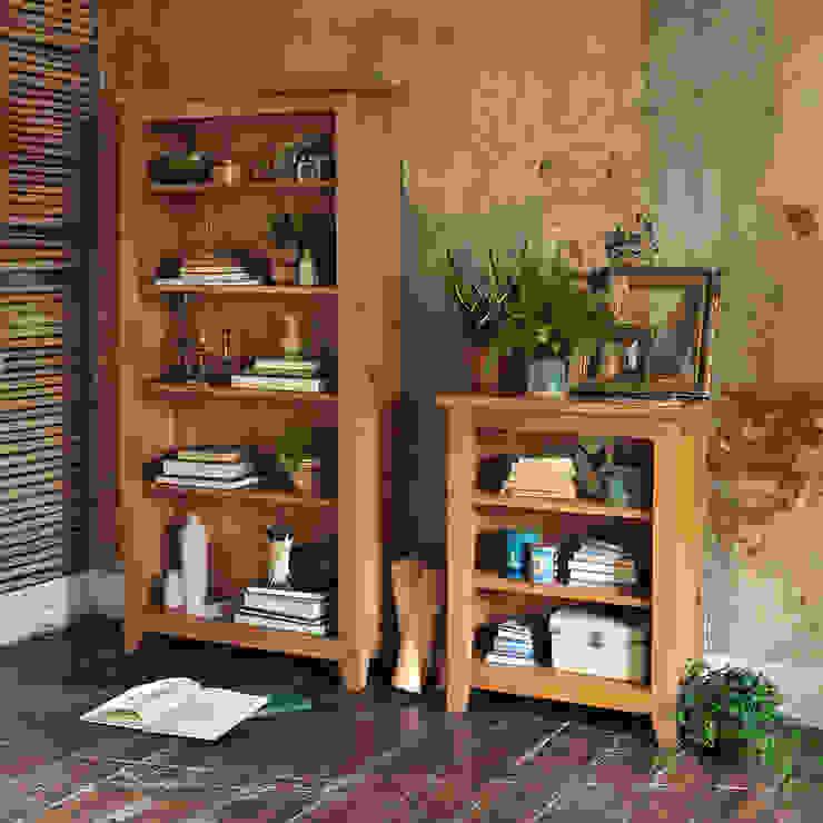 Oakland Bookcases de The Cotswold Company Rural Madera Acabado en madera
