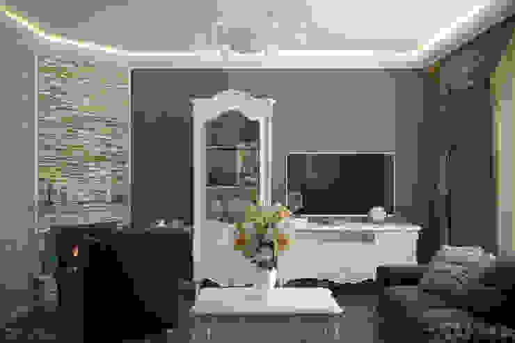 Salon classique par Студия интерьерного дизайна happy.design Classique