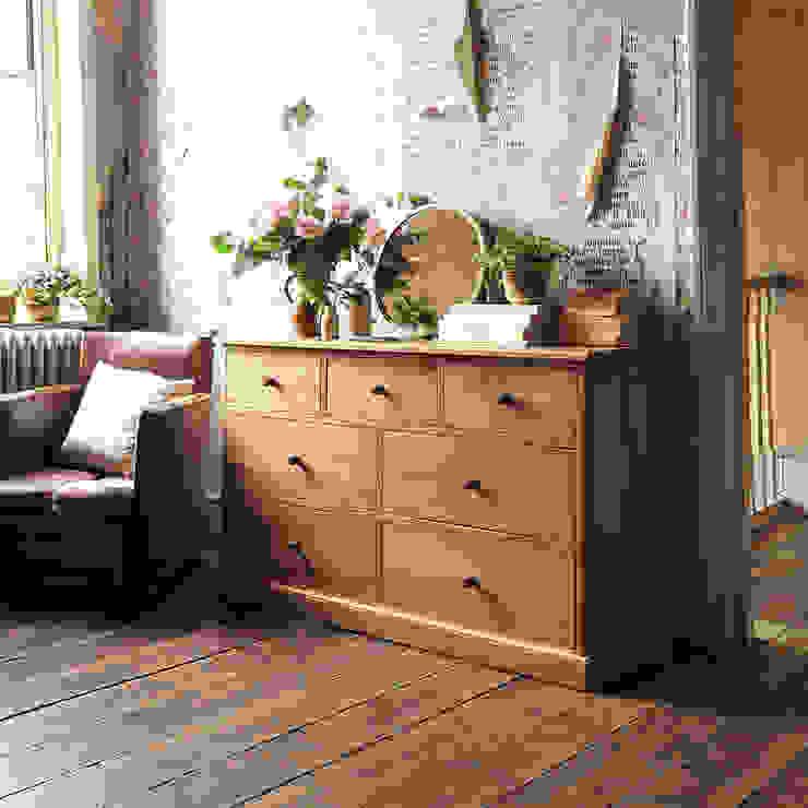 Appleby Oak 3 Over 4 Chest de The Cotswold Company Rural Madera Acabado en madera