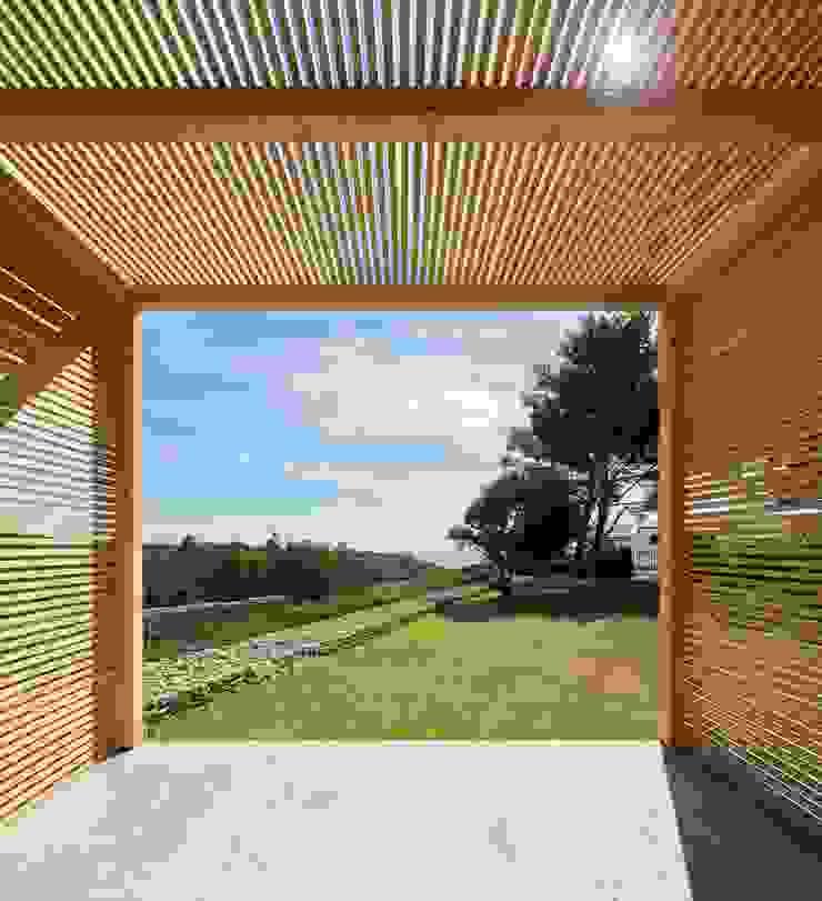 THE PAVILLION Paredes e pisos minimalistas por MARLENE ULDSCHMIDT Minimalista
