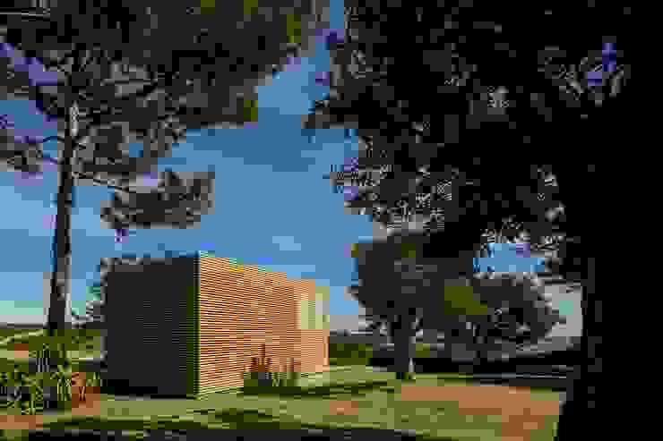 THE PAVILLION Casas minimalistas por MARLENE ULDSCHMIDT Minimalista