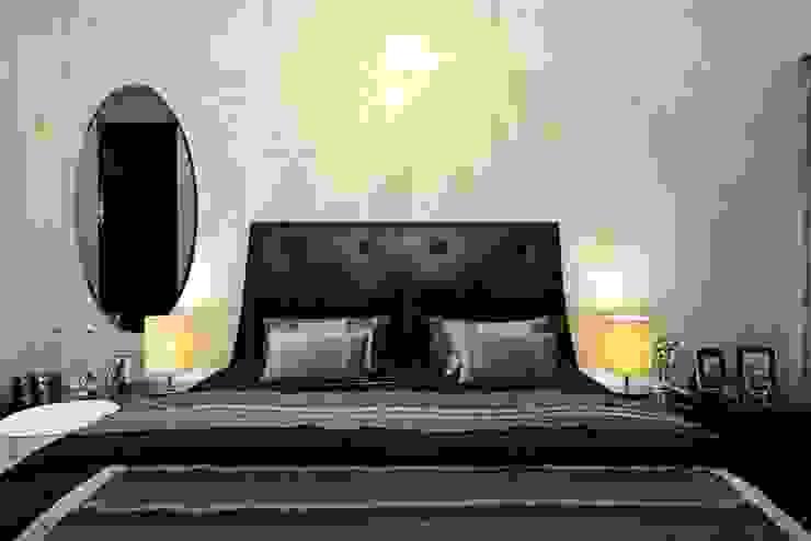 ABIL Experience Center—Castle Royale T7 Modern style bedroom by Aijaz Hakim Architect [AHA] Modern